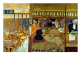 Bonnard: Cafe, 1928 Impresso gicle por Pierre Bonnard
