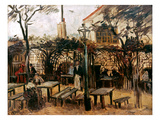 Van Gogh: Guingette, 1886 Prints by Vincent van Gogh