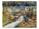 Manet: Garden, 1881 Prints by Edouard Manet