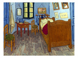 Van Gogh: Bedroom, 1889 Giclee Print by Vincent van Gogh