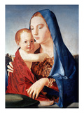 Antonello: Virgin & Child Prints by  Antonello da Messina