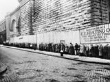 New York City: Bread Line Photographic Print