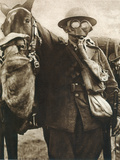 WWI: Gas Warfare Photographic Print