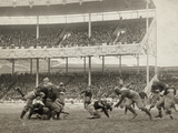 Football Game, 1916 Reproduction photographique