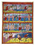 Adam And Eve. 9Th Century Giclee Print