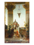 Moreau: King David Giclee Print by Gustave Moreau