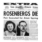 Rosenberg Execution, 1953 Prints