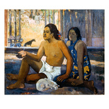 Gauguin:Tahiti Women Giclee Print by Paul Gauguin