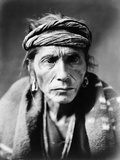 Navajo Man, C1905 Photographic Print by Edward S. Curtis