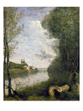 Corot: Cathedral, C1855-60 Giclee Print by Jean-Baptiste-Camille Corot