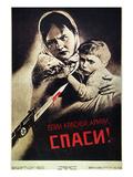 Soviet Poster, 1942 Giclee Print by Viktor Koretsky