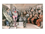 Blaine Cartoon, 1884 Giclee Print by Bernhard Gillam