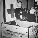 Ww Ii: Red Cross, C1942-43 Photographic Print
