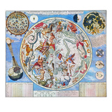 Celestial Planisphere Prints by Carel Allard
