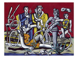 Leger: Leisure, 1949 Giclee Print by Fernand Leger