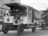 Red Cross: Ambulance Photographic Print