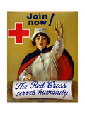 Red Cross Poster, C1917 Prints