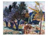 Bonnard: Landscape, 1924 Giclée-Druck von Pierre Bonnard