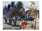 Bonnard: Landscape, 1924 Giclee Print by Pierre Bonnard