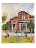 Utrillo: Street Scene Giclee Print by Maurice Utrillo