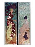 Bonnard: Women, 1891 Giclée-Druck von Pierre Bonnard