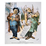 G. Cleveland Cartoon, 1892 Giclee Print by Bernhard Gillam