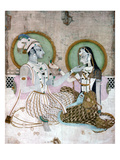 India: Couple Giclee Print