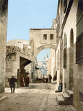 Jerusalem: Via Dolorosa Photographic Print