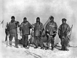 Terra Nova Expedition Photographic Print by Herbert Ponting