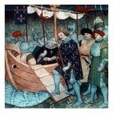 King Louis Ix Of France Giclee Print