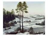 Furbish's Dash To Montreal Giclee Print by Charles E. Beckett