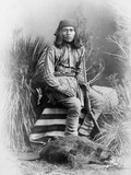 Apache Leader, 1885 Photographic Print by George Benjamin Wittick