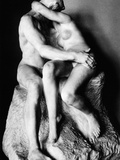 Rodin: The Kiss, 1886 Photographic Print by Auguste Rodin