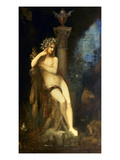 Moreau: Fairy With Griffins Posters by Gustave Moreau