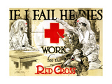 Red Cross Poster, C1918 Prints by Arthur McCoy