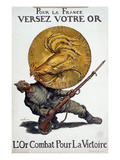 World War I: French Poster Giclee Print by Abel Faivre