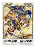 World War I: French Poster Giclee Print by Victor Emile Prouve