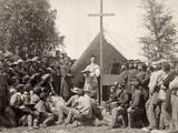 Civil War: Mass, 1861 Fotografisk tryk
