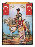 Republic Of Turkey: Poster Giclee Print