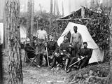 Civil War: Officers, 1864 Photographic Print