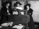 Women Voting, C1917 Photographic Print