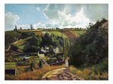 Pissarro: Jallais, 1867 Giclee Print by Camille Pissarro