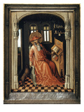 Saint Jerome (340-420) Giclee Print by Stefan Lochner