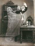 Spirit Photograph, 1863 Photographic Print by E. Thiebault