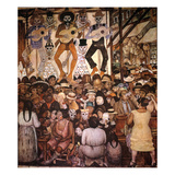 Rivera: Day Of The Dead Giclee Print by Diego Rivera