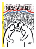 The New Yorker Cover - August 22, 1964 Premium Giclee Print by Abe Birnbaum