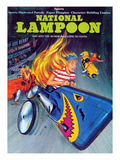 National Lampoon, November 1973 - Sports, Soap Box Derby Crash and Burns Posters