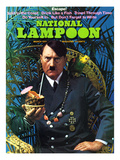 National Lampoon, March 1972 - Hitler&#39;s Escape! Art
