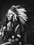 Sioux Native American, C1898 Photographic Print by Adolph F. Muhr