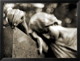 Cemetery Statues, no. 2 Framed Photographic Print by Katrin Adam